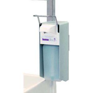 Soporte dispensador de líquido desinfectante