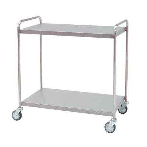 Carro para distribución con 2 estantes lisos