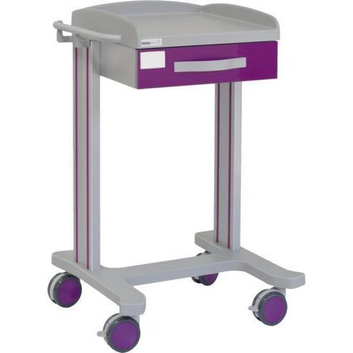 Carro hospitalario multifuncional con 1 cajón superior