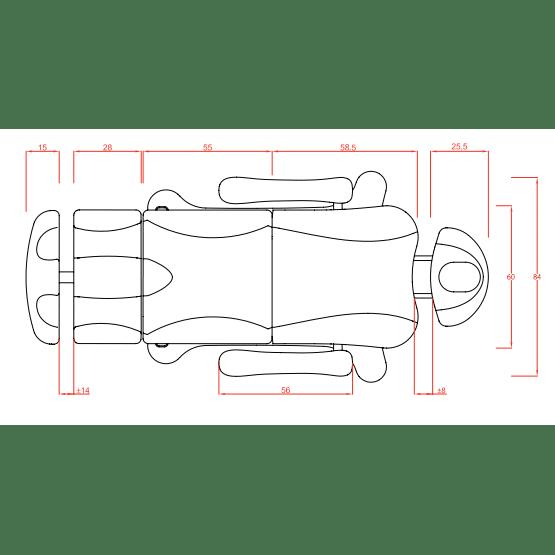 Camilla Tempo 3/4 Motores