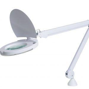Luminaria con lente de aumento Lupa LED HF 5 dioptrías